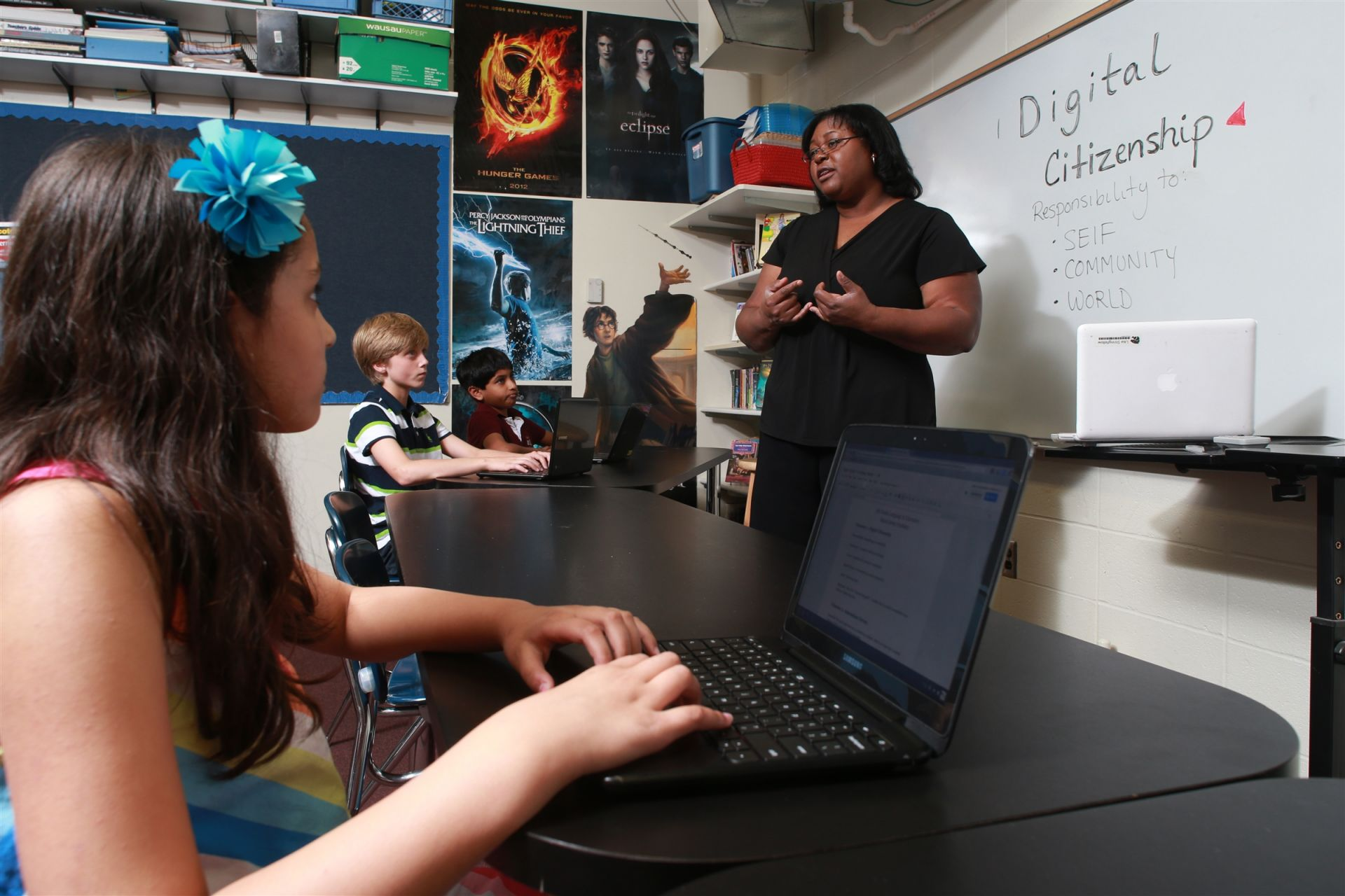 Digital literacy and citizenship is part of the core curriculum.