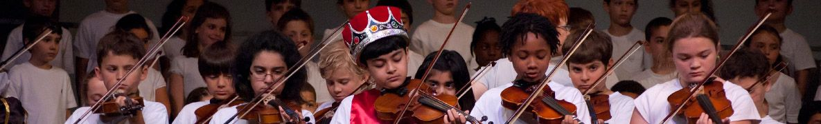 Lower school musical performance