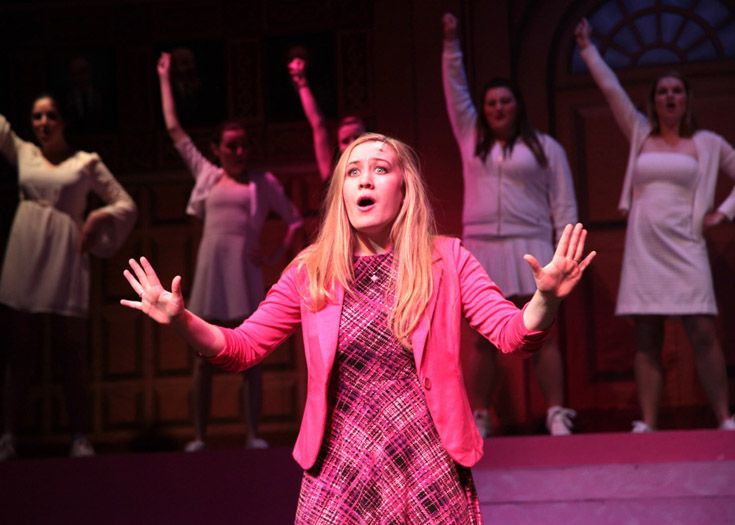 Upper school production of 'Legally Blonde.'
