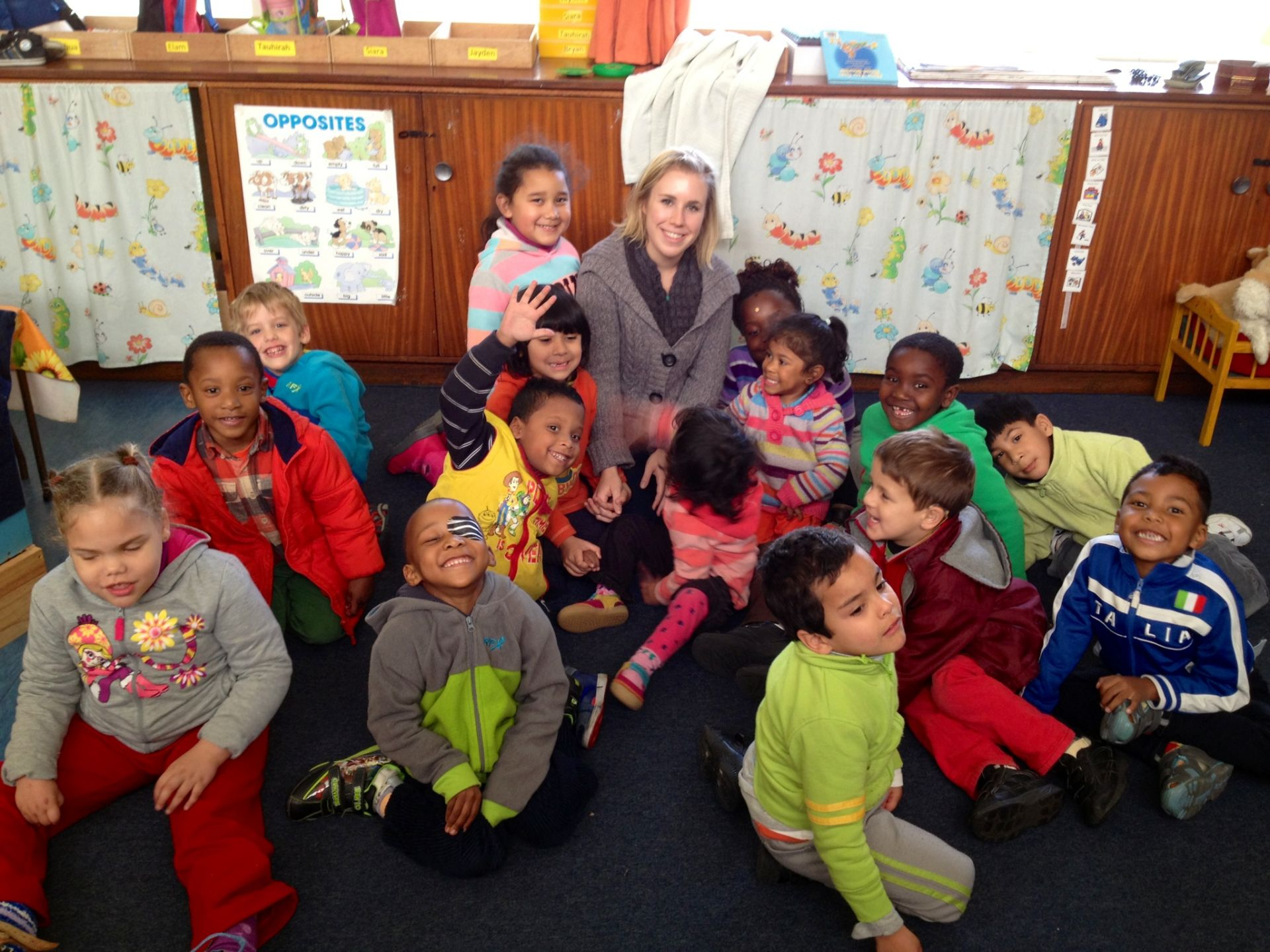 Rachael Drouin '10 is fundraising for a school roof in South Africa