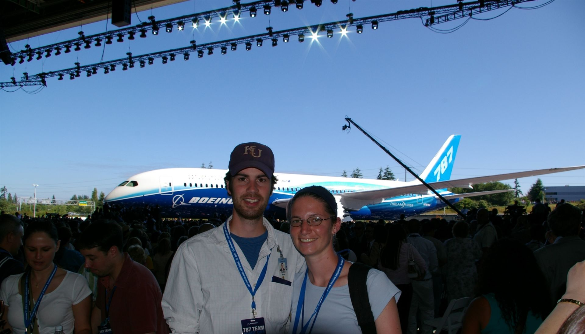 Gina Pricco Nuss '02 is an engineer for Boeing