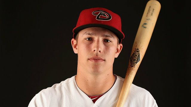 Jake Lamb '09 plays third base for the Arizona Diamondbacks