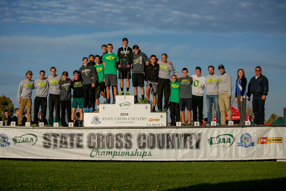 Congratulations to the Men's Cross Country Team - 3rd Place in State!