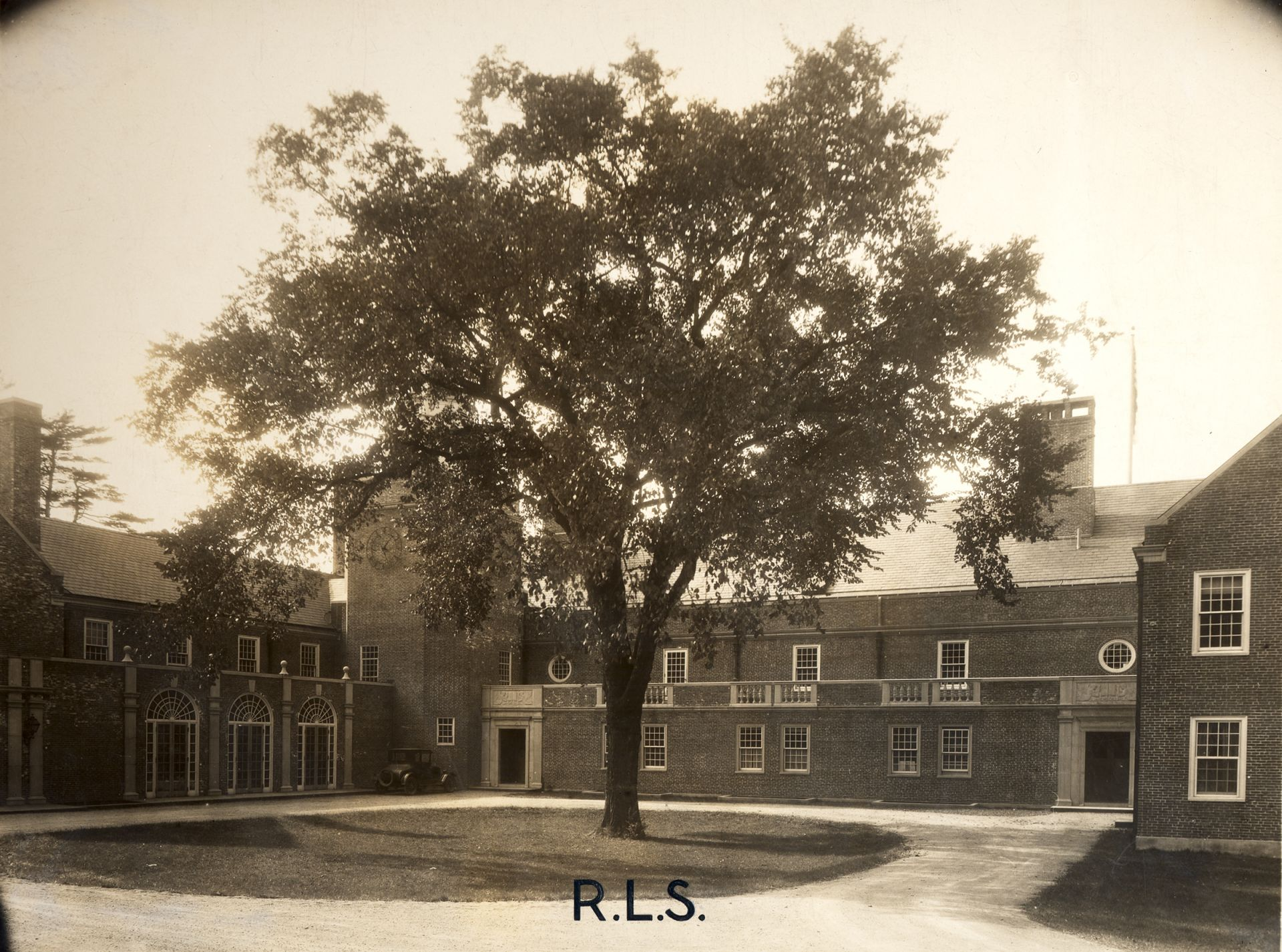 The new campus in W.Roxbury in 1930