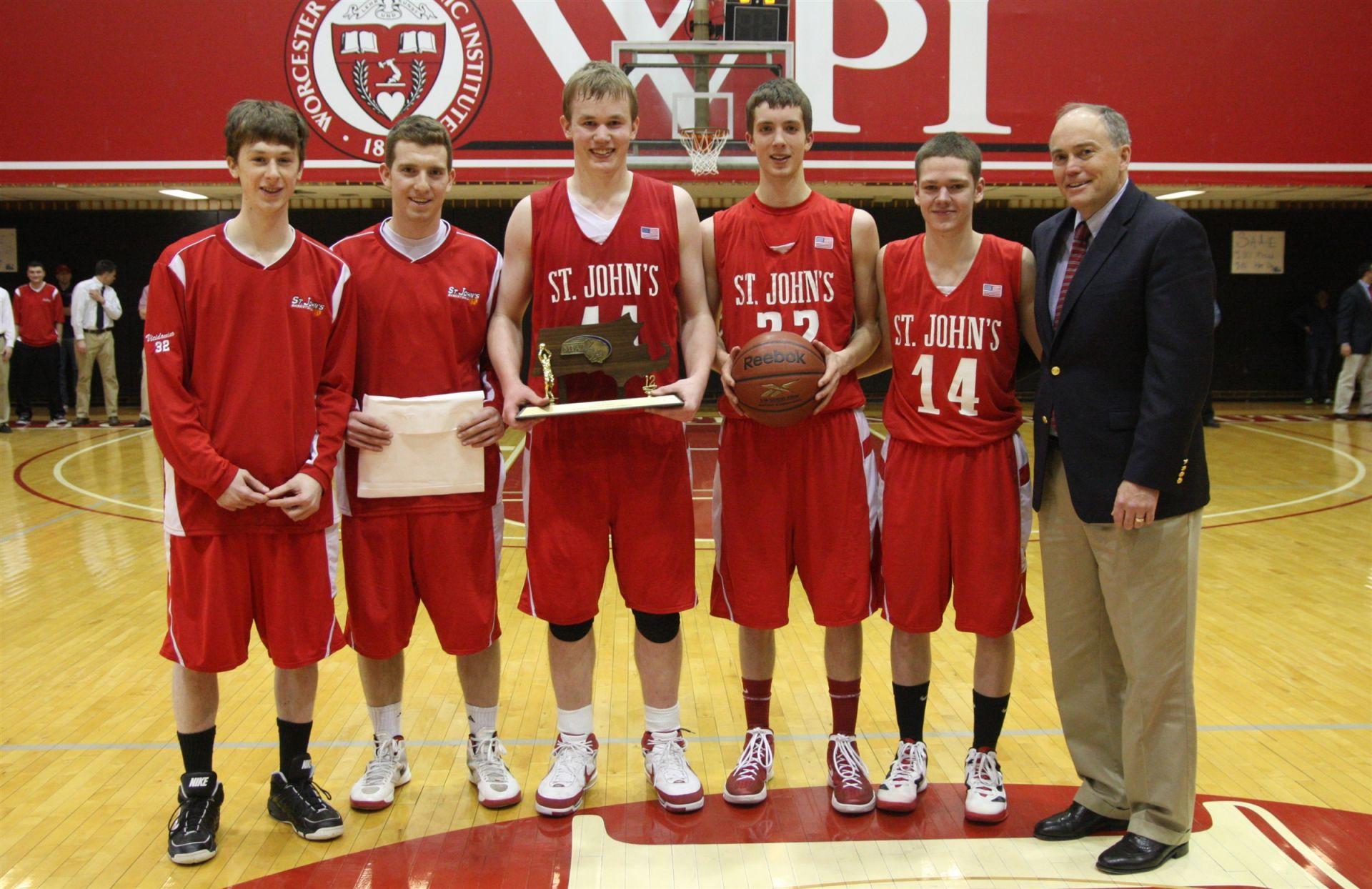 saint john's high school | basketball