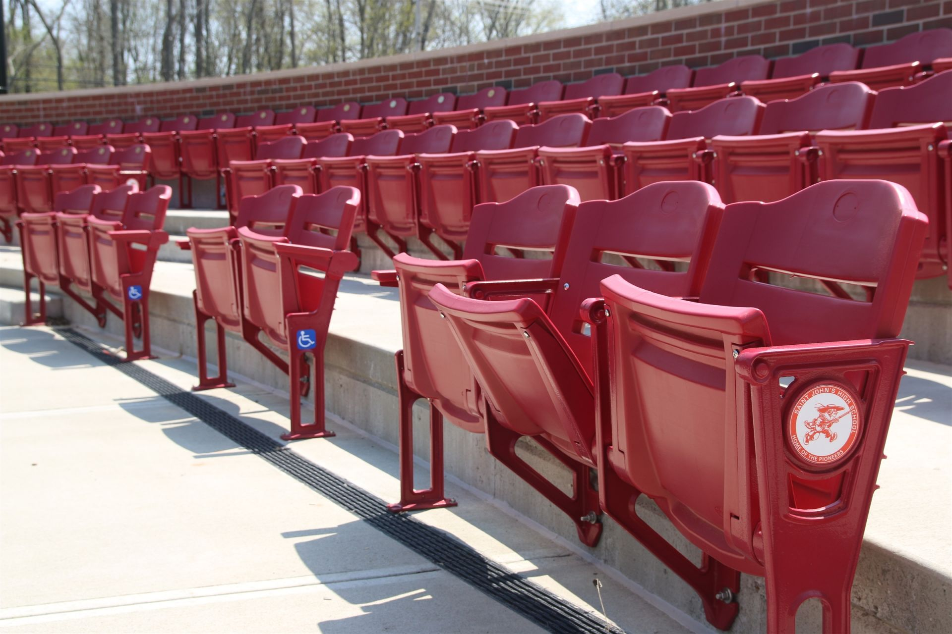 Baseball Field Stands