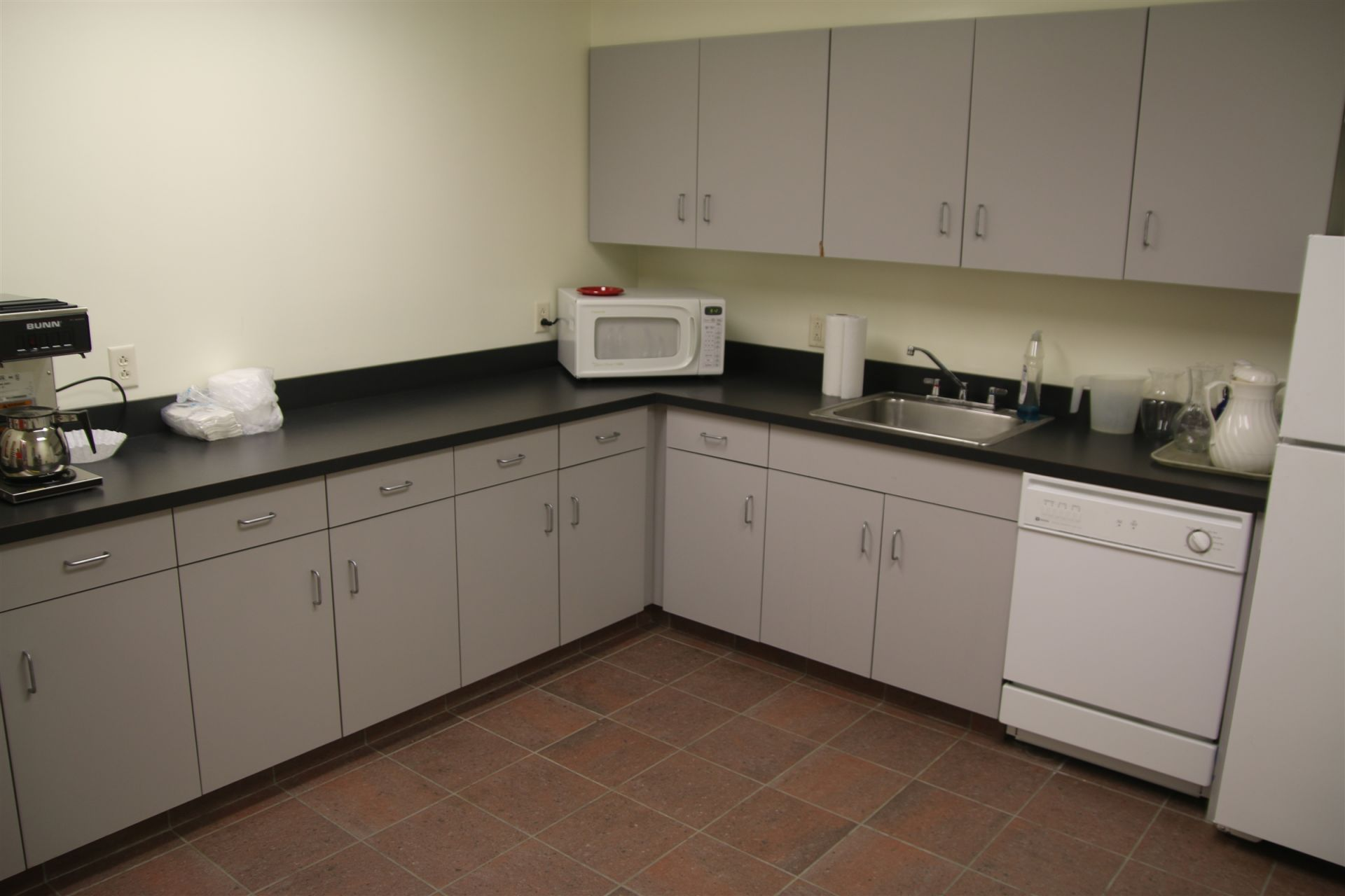Kitchen, Lauring Conference Room