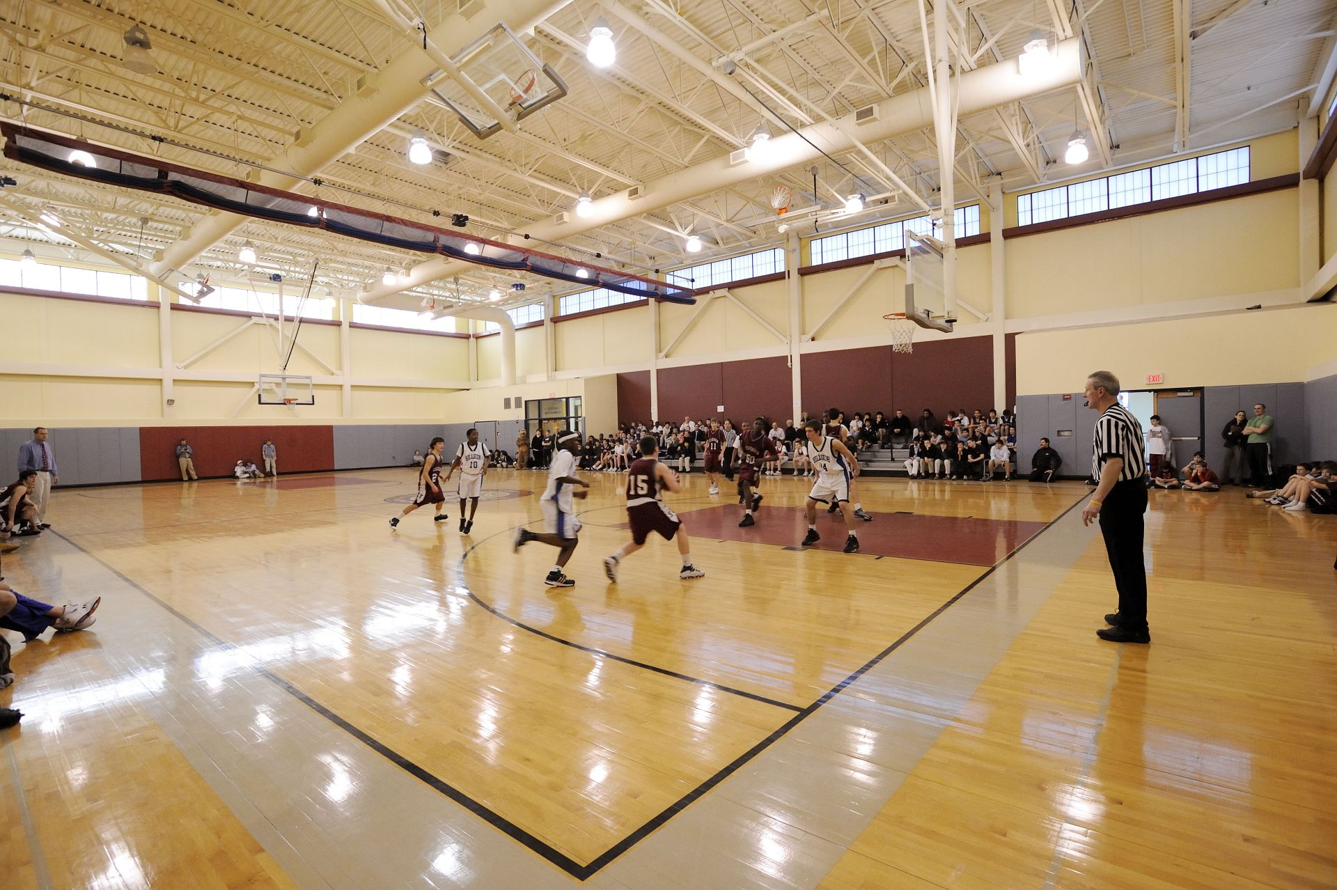 The Pallotta Athletic Center: Our state-of-the art athletic facility consists of two basketball gymnasiums, a wrestling room, athletic offices, athletic trainer