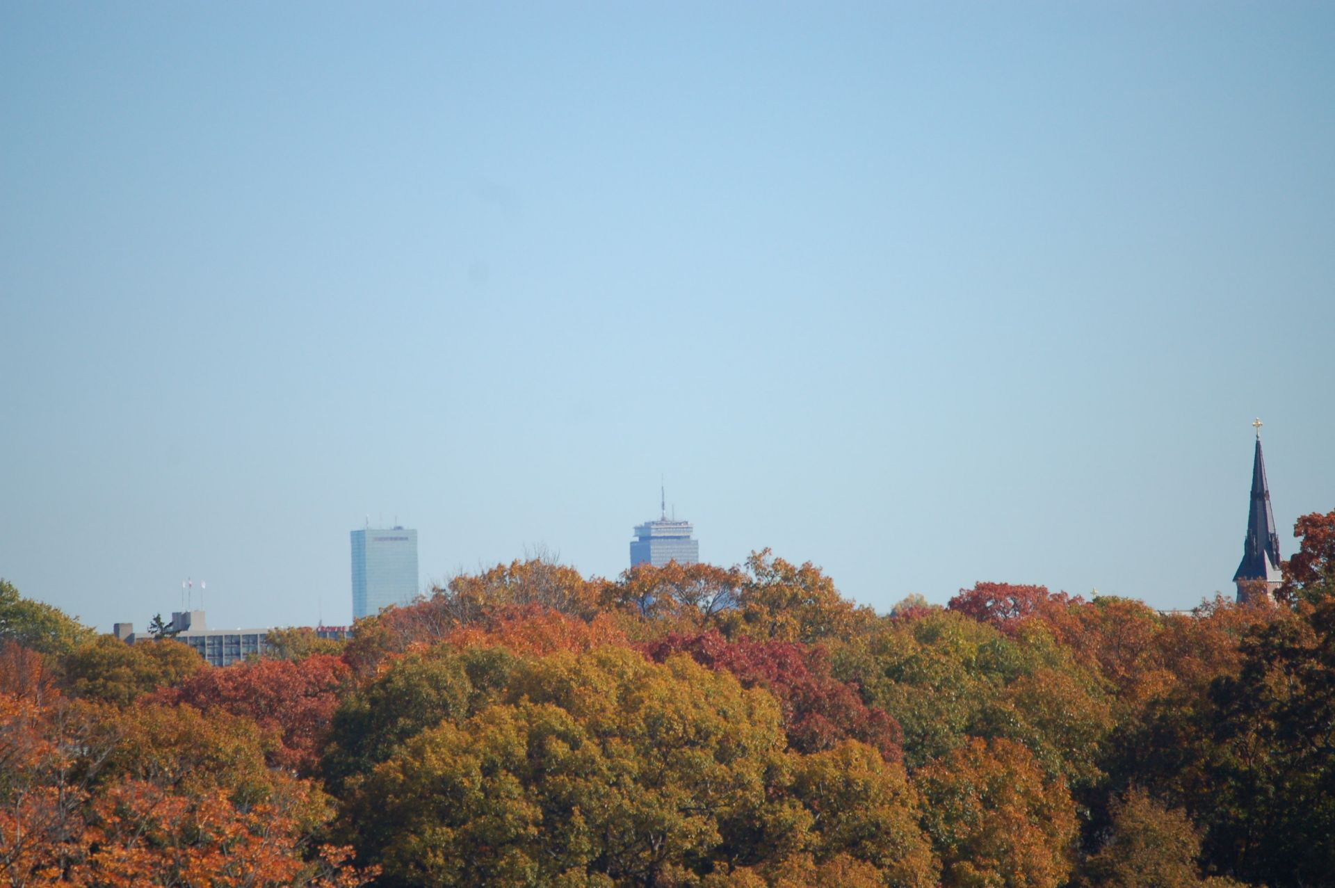 Boston Skyline (as seen from campus): Located just 15 minutes west of Boston, Fessenden students and faculty are able to take advantage of the many rich cultural experiences afforded by the city.
