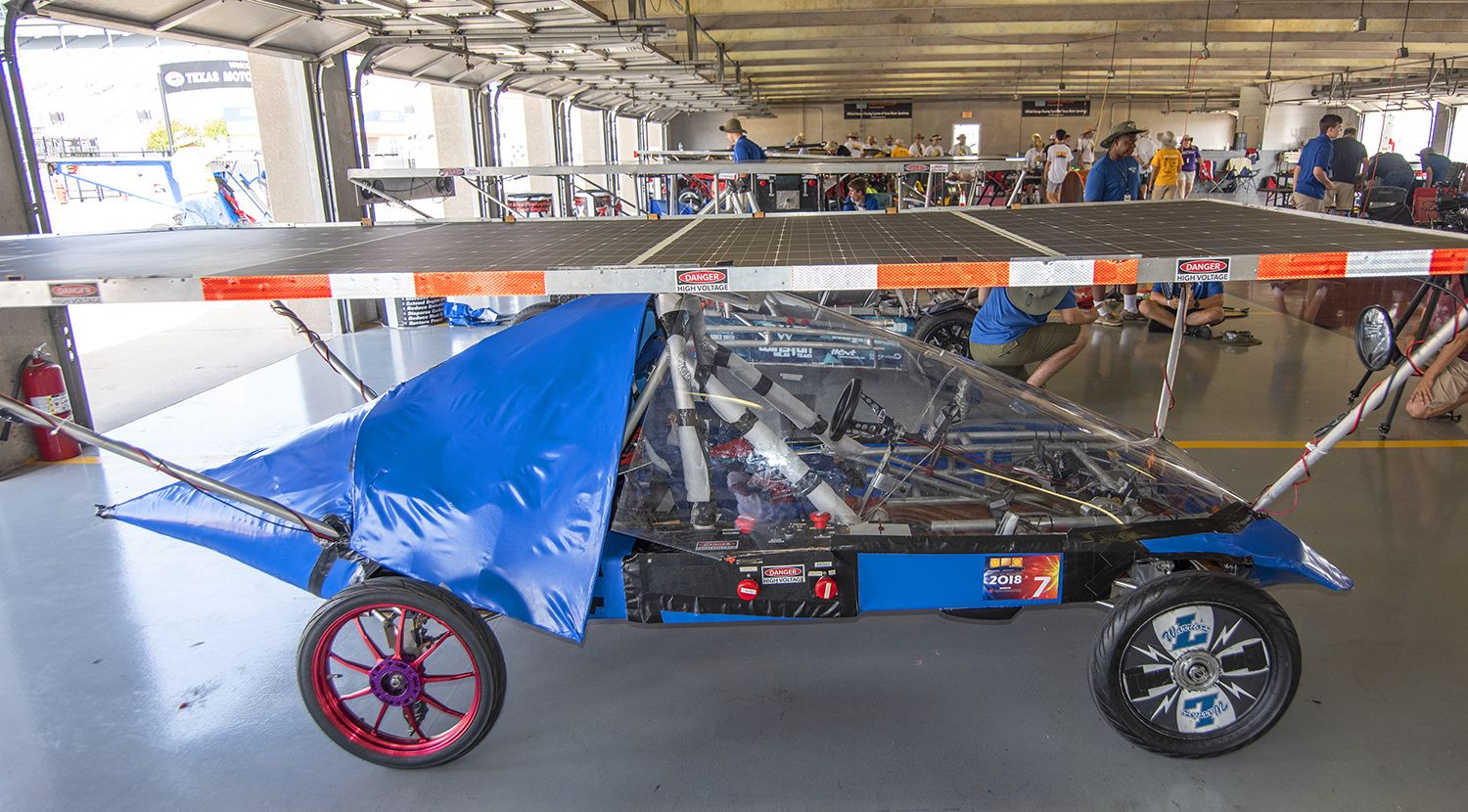 Liberty's 2018 Solar Car is ready to race.