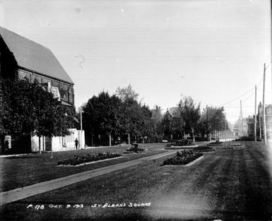 St. Alban's Square, 1913
