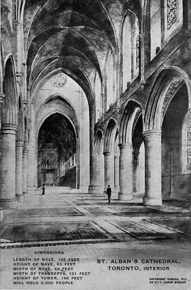 Interior of St. Alban's Cathedral