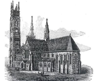 Drawing of St. Alban's