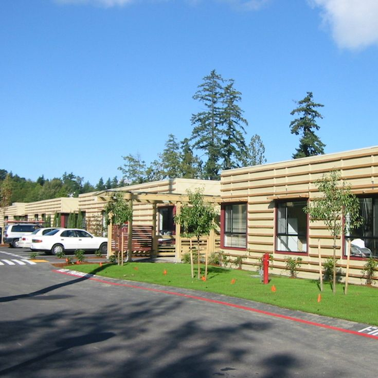 The new FASPS building, which opened in 2004