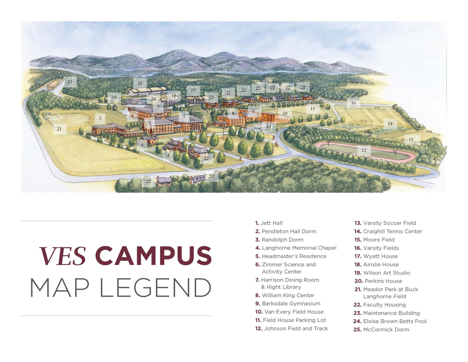 Take Our Campus Tour Virginia Episcopal School