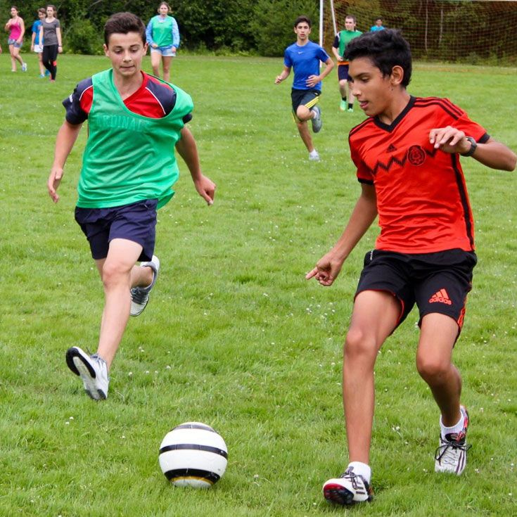 Students try out new sports every week.