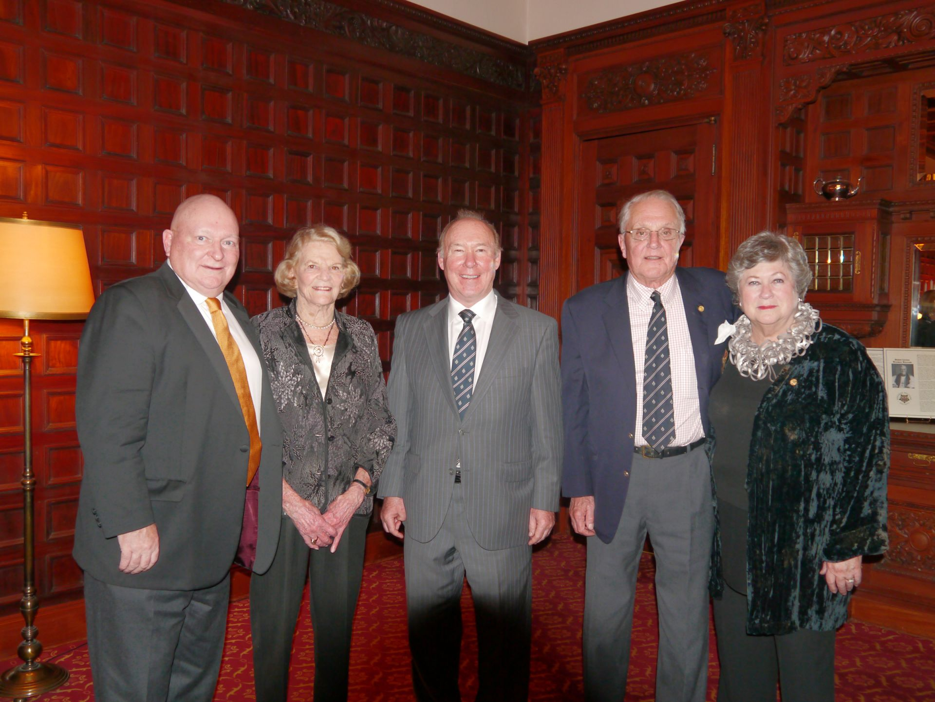 C. Scott Abbott, Jocelyn Shaw, Rick Howson, Bradley Mitchell and Patterson Webster