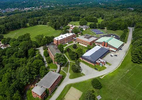 Bishop's College School campus from above