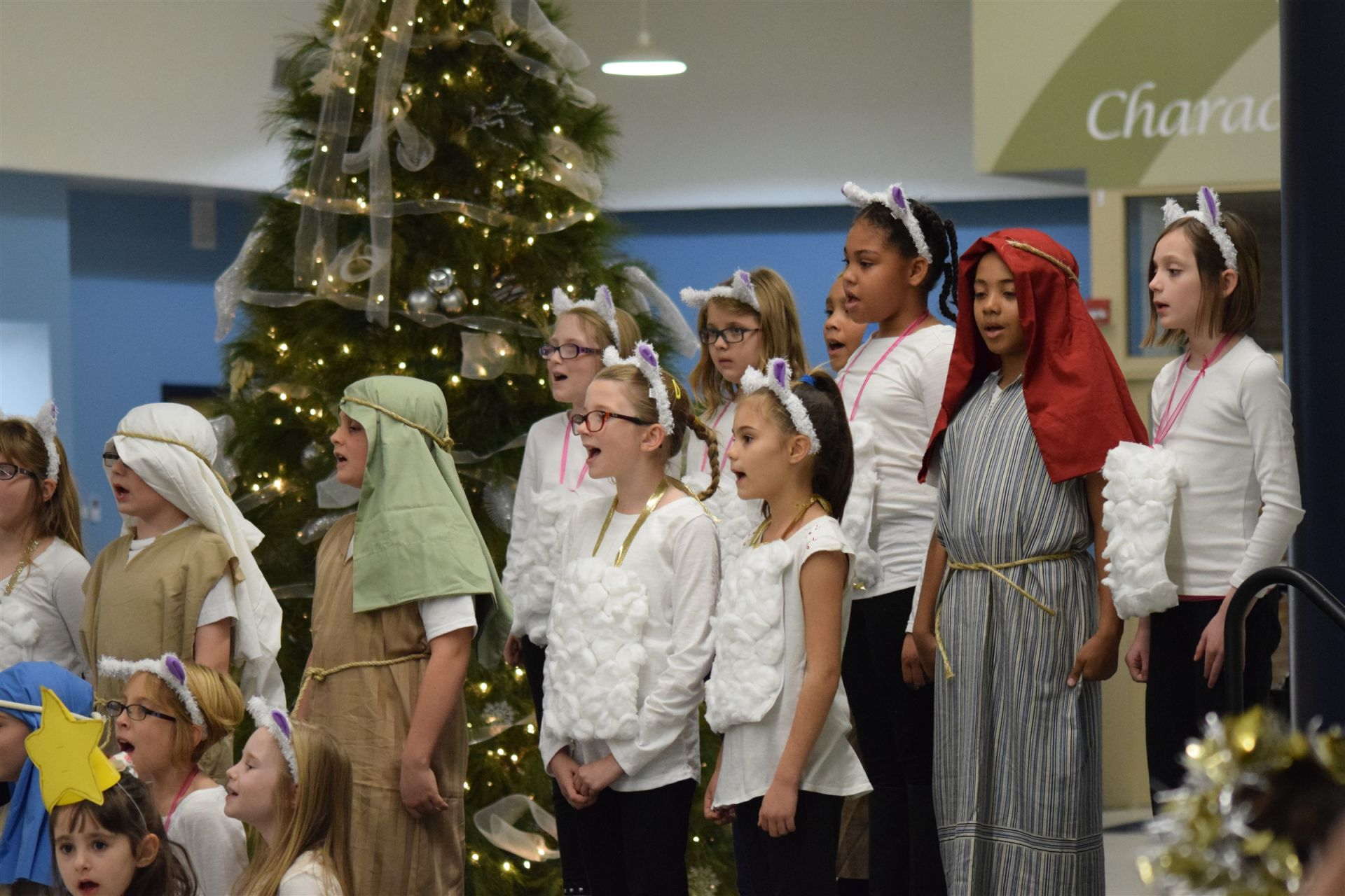 Lower School Christmas Program, 2016