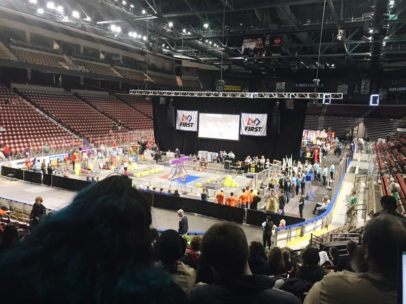 2018 Competition arena