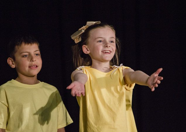 Students' confidence soars as they learn to present on-stage