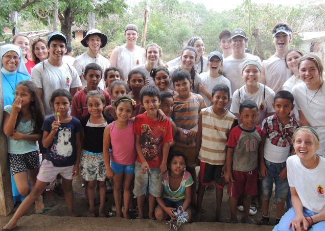 Each year, many of our Seniors attend a life-changing mission trip to Nicaragua.