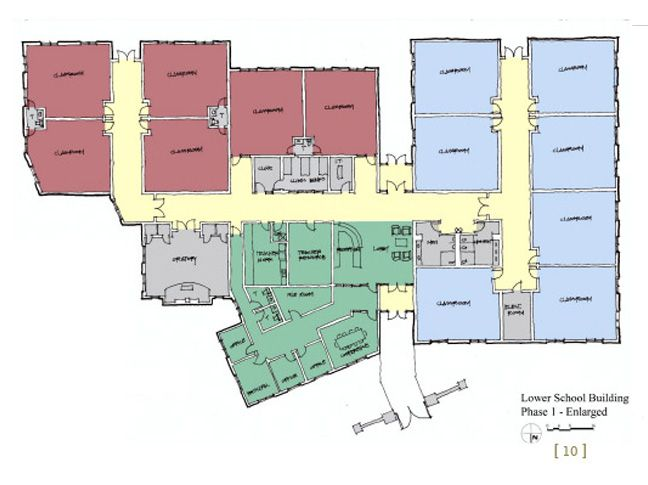 Lower School Floorplan
