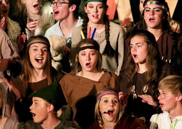 High School performs Peter Pan
