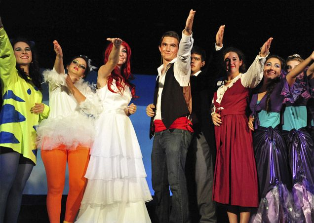High School performs The Little Mermaid