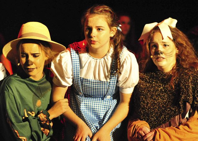 High School performs The Wizard of Oz