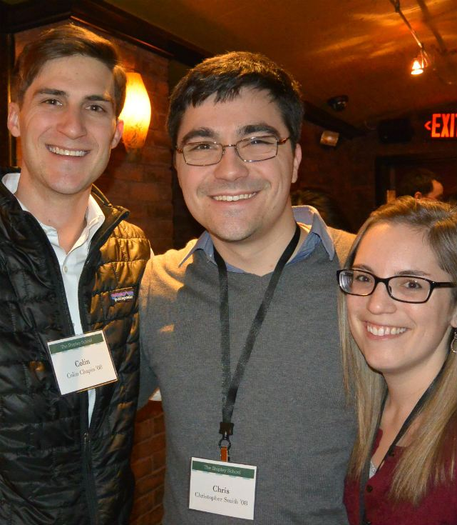 Alumni Reception, Boston 2015