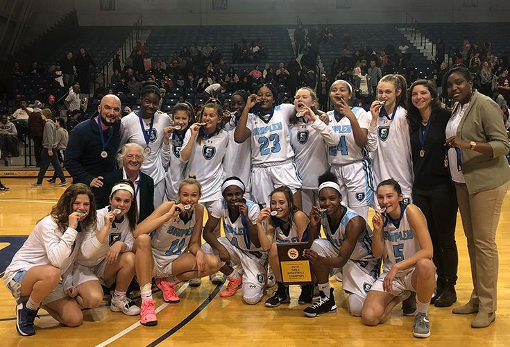 Shipley's athletics program emphasizes the importance of character education while competing at a championship-caliber level. Girls' Basketball won the Friends Schools League (FSL) Championship in 2019.