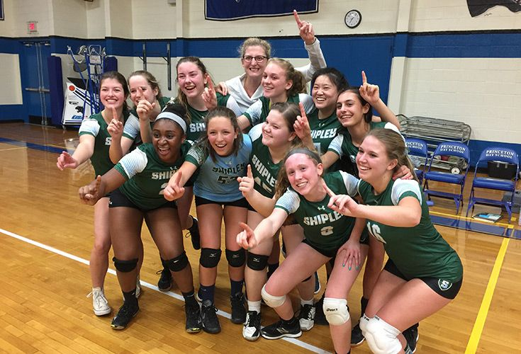 Girls' Volleyball won their sixth Independent League Championship.