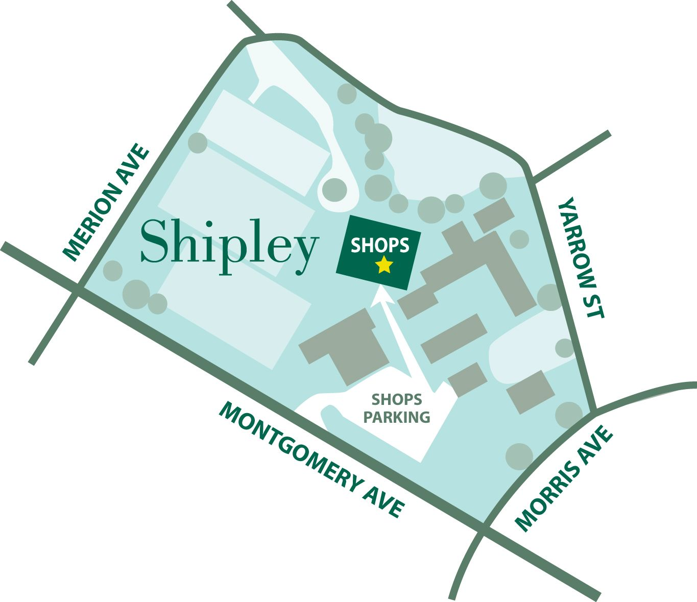 Where to Find Shipley Shops
