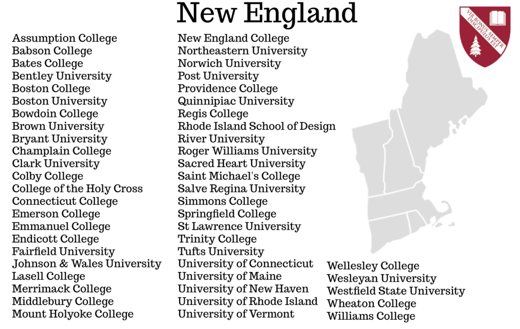Colleges In New England >> College Counseling A New England Boarding School College
