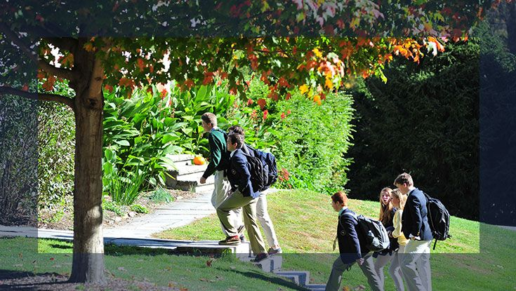 Go on a student guided tour of our beautiful campus