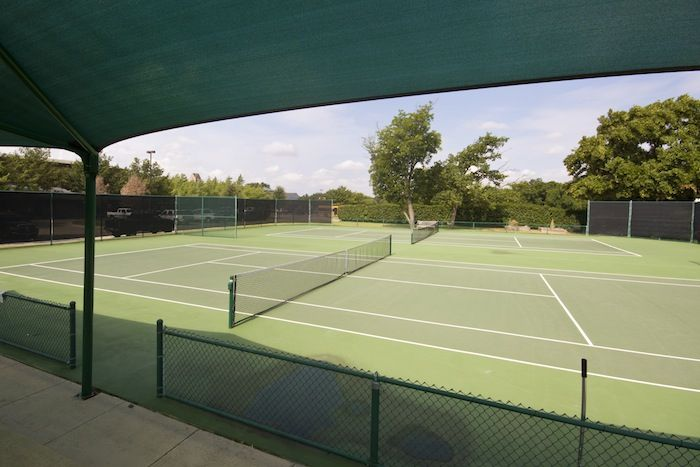 The Hill Tennis Center includes eight competition hard courts. Adjacent to the Hicks Athletic Center, the Hill Tennis Center hosts the middle school and varsity tennis teams, physical education programs, and tennis camps.