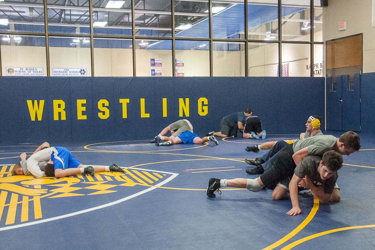 The Winn Family Wrestling Center is located in Spencer Gymnasium and hosts all of the school's wrestling facilities and programs. Competition mats, electronic tournament scoring clocks, and other tournament and training facilities support the school's renowned wrestling program.