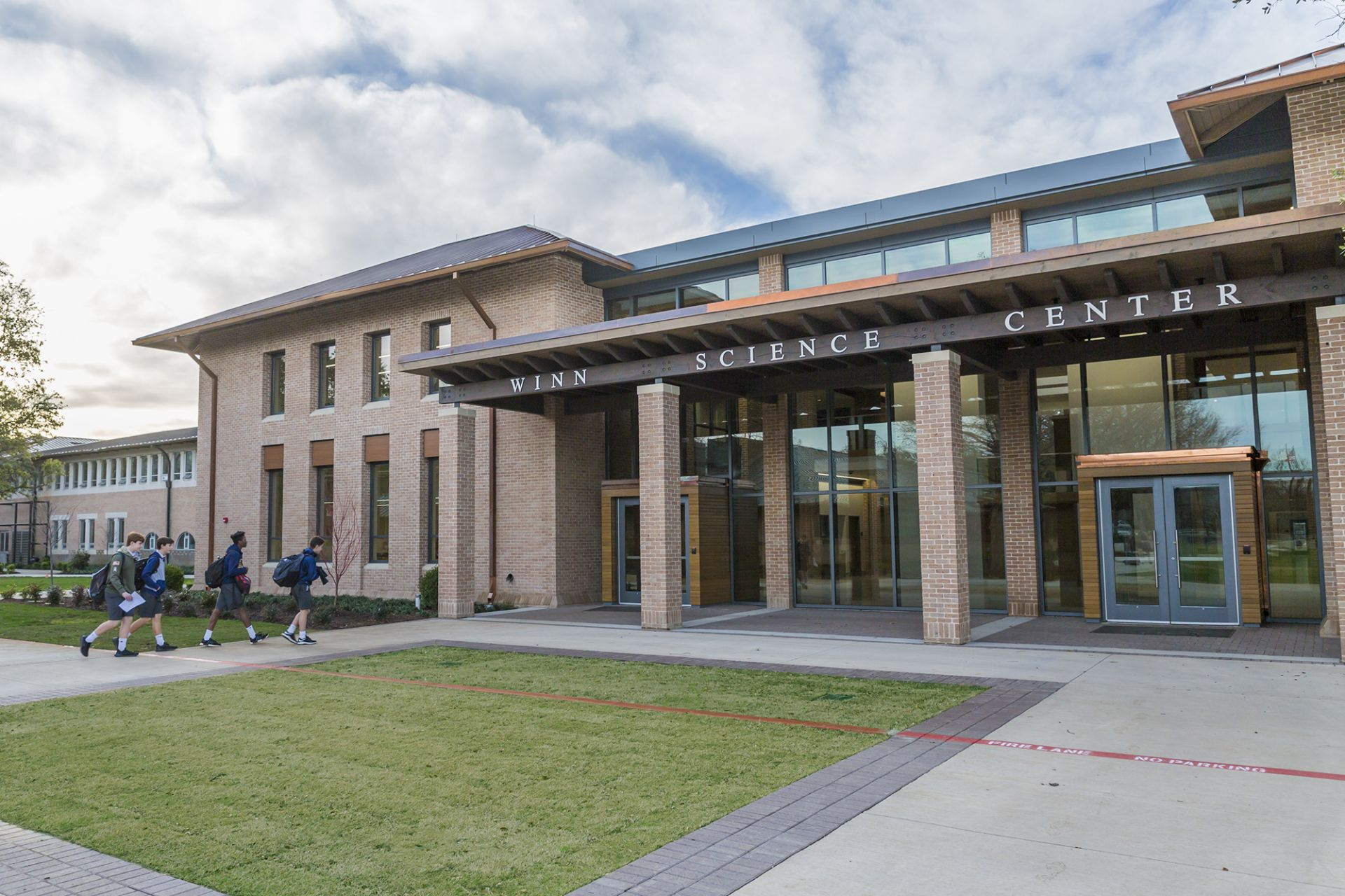 Opened in January 2019, the new Winn Science Center provides a state-of-the-art learning environment that will benefit Marksmen for generations to come. Crews are currently renovating the existing McDermott-Green Physical Science Center, bringing its 25,000 square-feet of classrooms, labs, and officers into the 21st century.