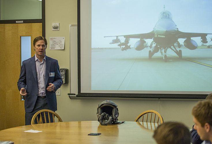 Capt. Michael Wisenbaker '93 (Ret.), Former Fighter Pilot; President of Peregrine Group