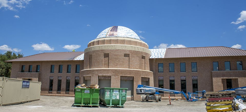 The Winn Science Center as of July 2018.