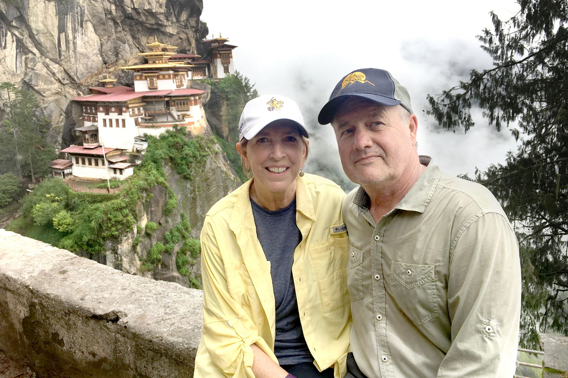 Mark and his wife Sherri chaperone the 2017 International Photography Trip to Bhutan