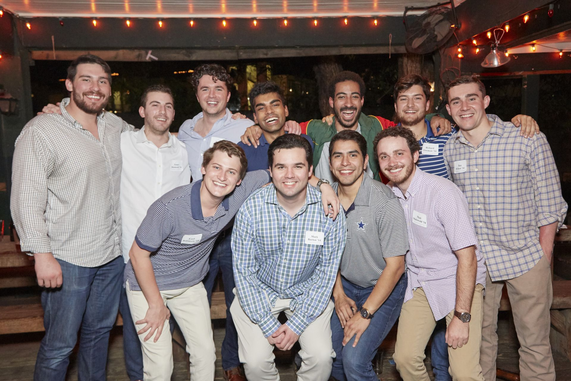 Members of the Class of 2014 reconnects at their 5th Reunion.