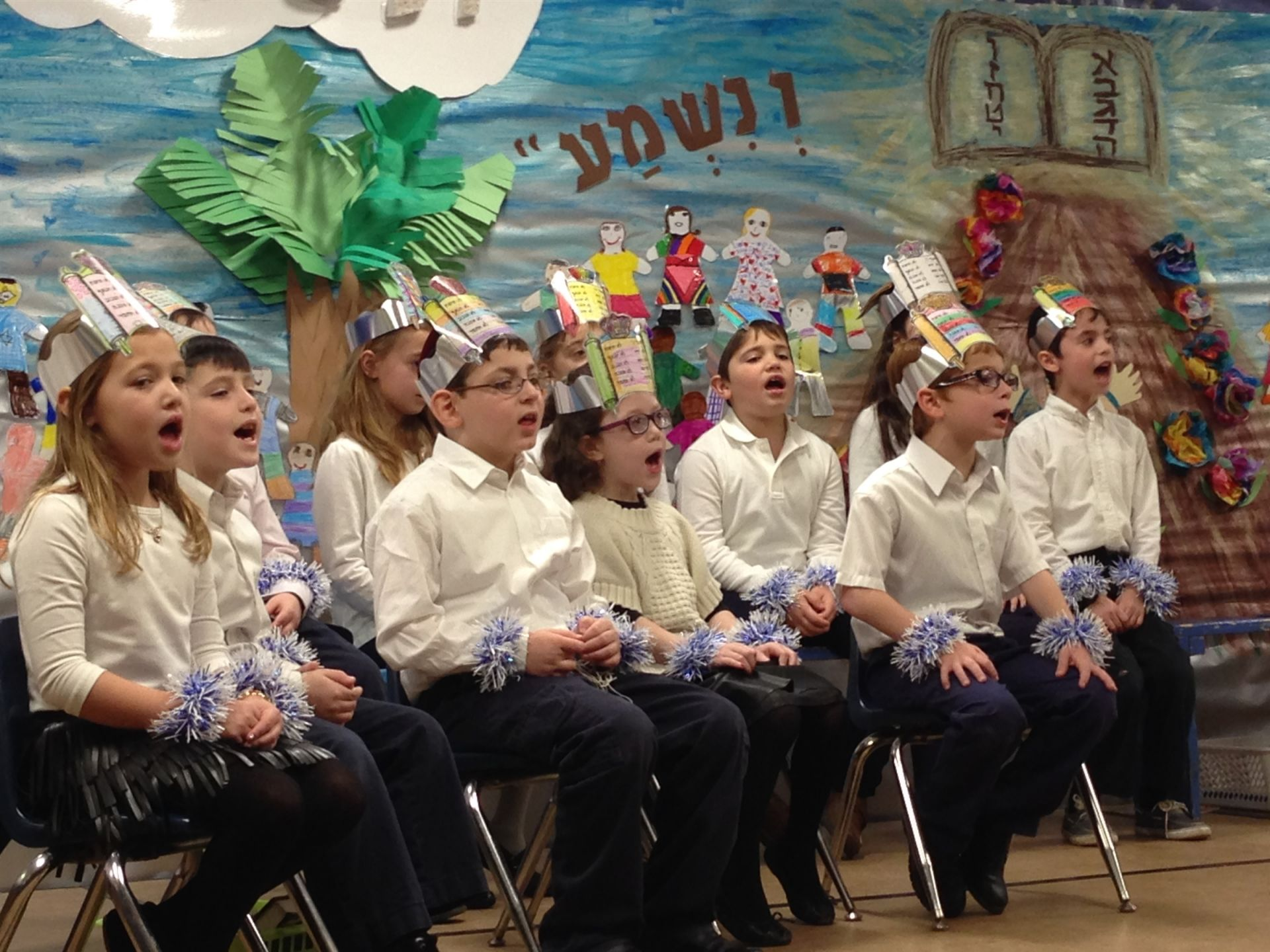 Congratulations to the 2nd Graders on receiving their Chumashim!