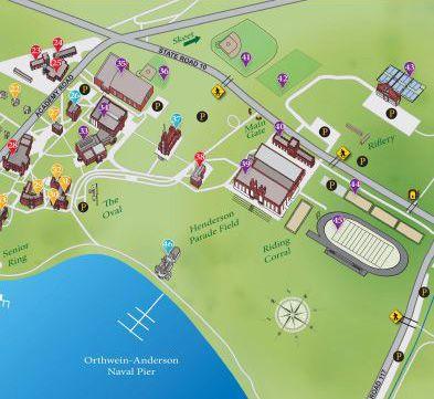 Valparaiso Campus Map.Culver Summer Schools Camps Visiting Culver