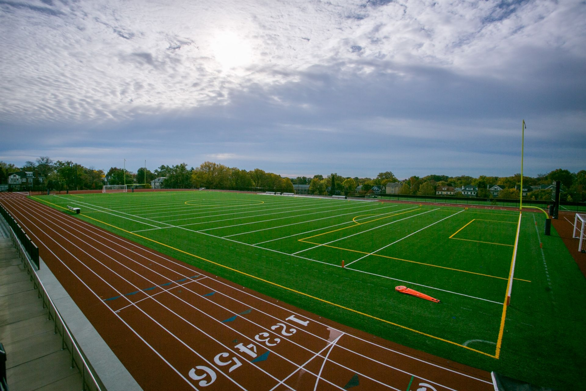 Steuart Field and Regulation Track