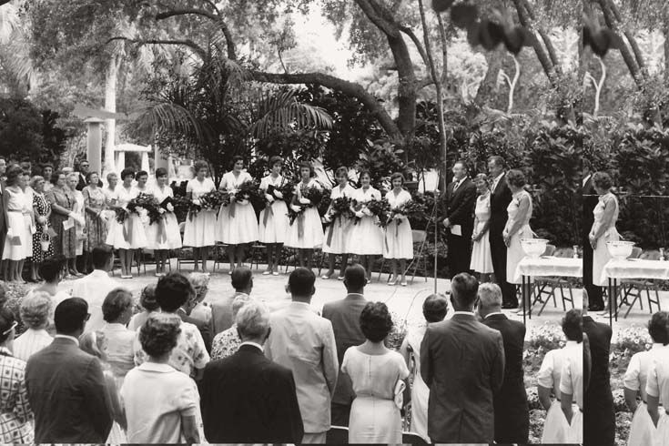 1960 First Everglades School Commencement
