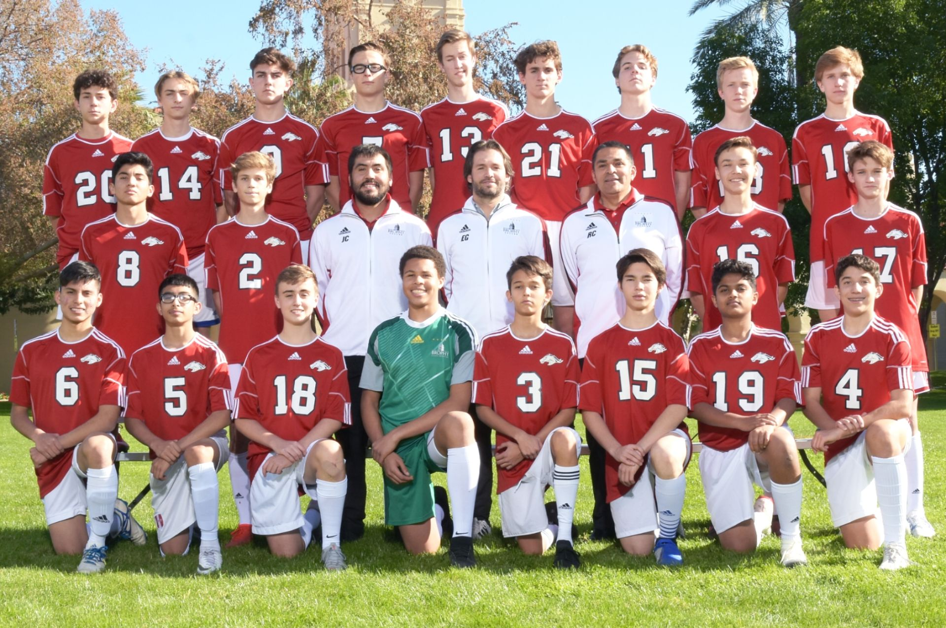 Junior Varsity B Soccer 2018-19
