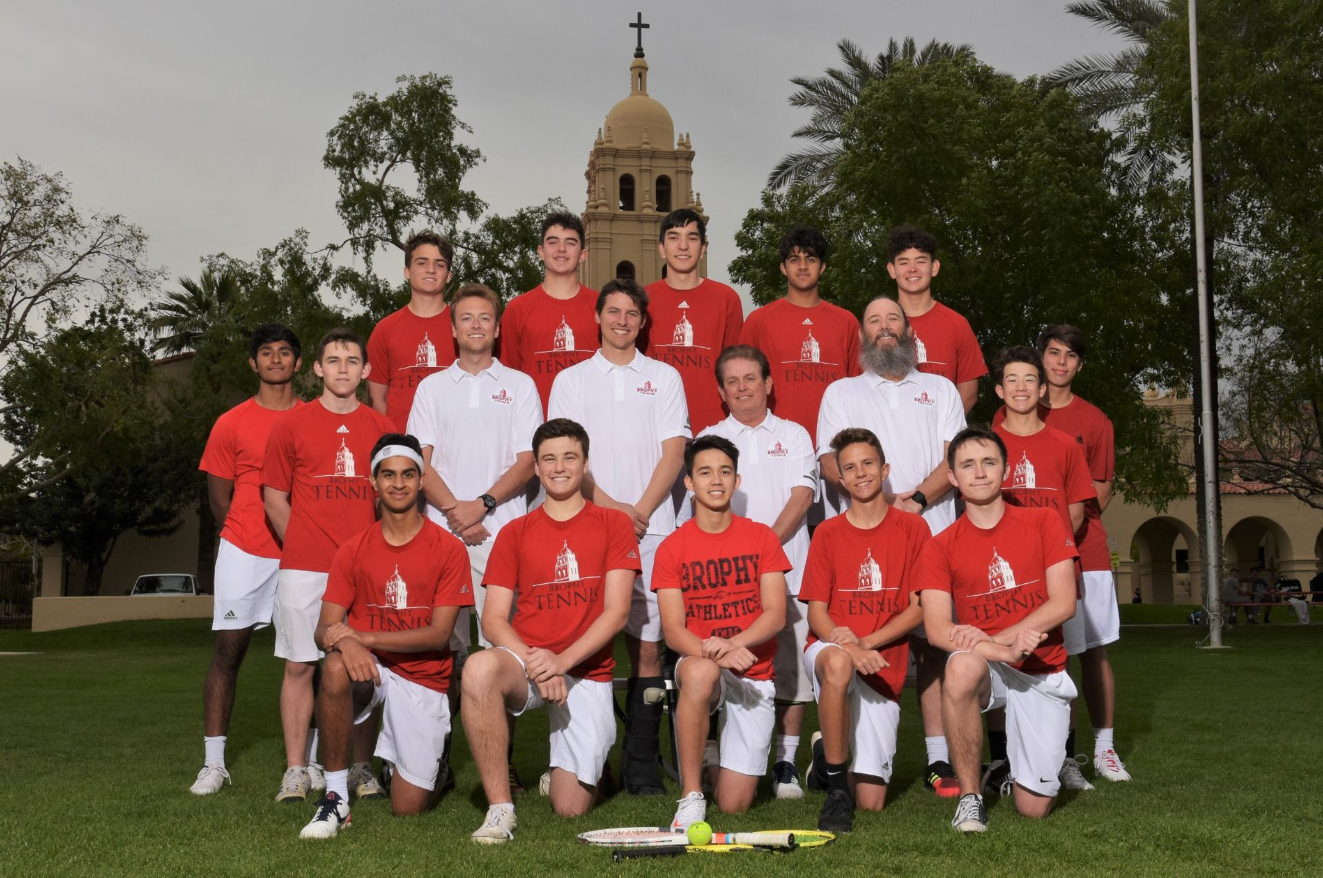 Junior Varsity Tennis 2018-19