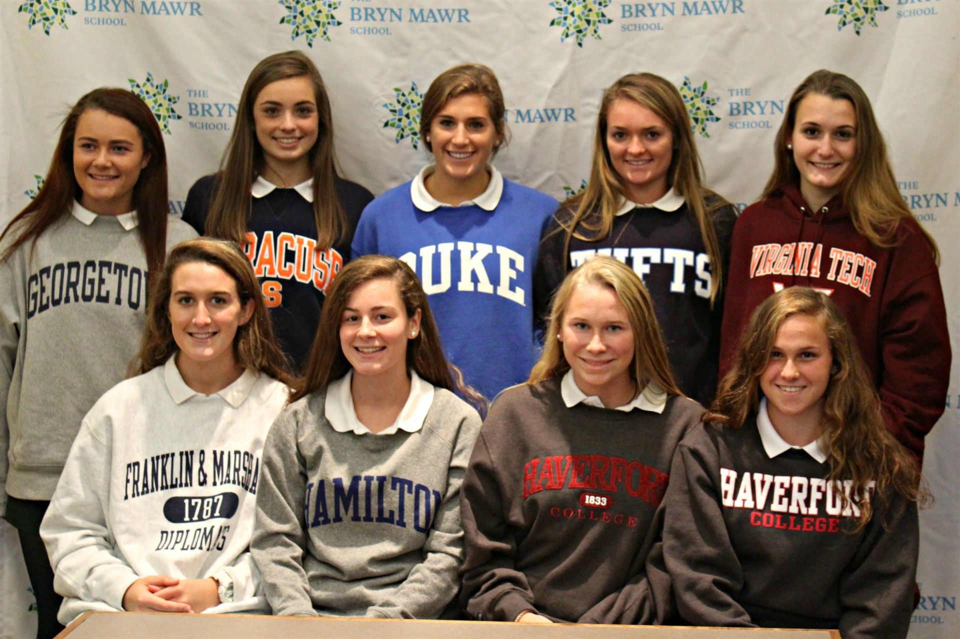 Members of the Class of 2018 on National Signing Day